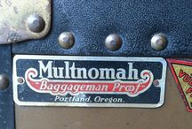 Multnomah Wardrobe Steamer Trunk / Showcasing my steamer trunk, along with research and photos of similar trunks and their various modern uses.