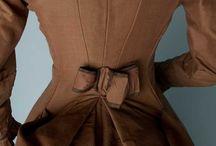 Victorian Fashion: Second Bustle