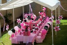 Callyn's Minnie Mouse Party / Party ideas for my lil sisters birthday...
