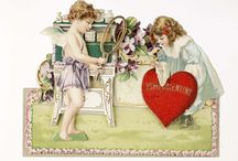 Valentine's vintage cards