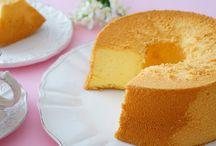 Chiffon cake e Angel cacke / Chiffon cake e Angel cacke