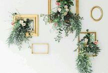 Boho Flowers & Wall Art