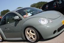 New Beetles, modified, custom or simply slammed!