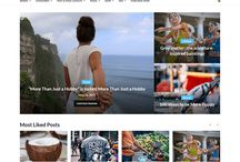 Best WordPress Themes for Travel Blogs / A collection of the best WordPress themes for travel blogs.