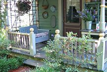 Pretty Porch and garden