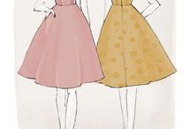 Laneway Dress Sewing Pattern - JLH