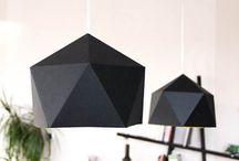 Lámparas origami