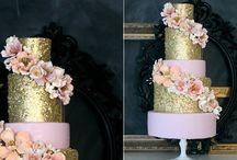 Sequin cakes