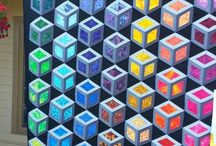 Optical Illusion Quilts / Not for the fainthearted