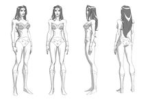 Model Sheets - Inspirations