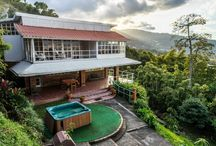 Escazu house with large lush garden and beautiful view