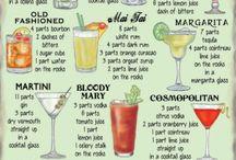 Cocktails, Smoothies, Milkshakes