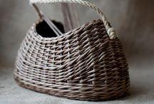 Плетение корзин (в т.ч. из бумаги)