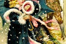 VINTAGE CHRISTMAS CARD I WISH I HAD