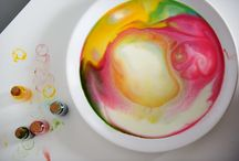 Experiment ideas / Ideas for experiments which you can easily do at home with your kids