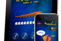 Splash Math series of apps for grade K-5 / Kids will learn a variety of math concepts presented in chapters. The questions start off easy and automatically progress with each correct answer. / by Splash Math - Fun Math Practice for Kids