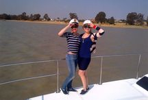 Fun times with a Cruiser Cat / Clients having fun on their catamaran