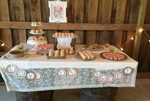 Sweets at The Barn / Lots of yummy cakes, cupcakes, and other desserts at The Barn in Zionsville!
