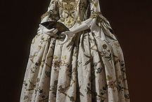 1700 - 1760's • Early Rococo dress inspiration / Although the death of Louis XIV is usually regarded as the end of the Baroque period, some art historians regard Rococo as simply an extension of that period. It developed in the early 18th century in Paris, France as a reaction against the grandeur, symmetry, and strict regulations of the Baroque / by Elizabeth Novak