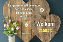 welkom nieuwe maand