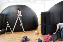 Immersive Experiences Maintenance / We run annual maintenance on some of our planetariums. A couple of them needed some TLC so the team got to work, washing, patching, scrubbing, repairing and making the domes look brand new again. If you are a planetarium and in need of some professional maintenance and repair, get in touch with us today! Prices start from £500 for a full clean, wash, patch (as many as we can) medium to large holes as possible. This also includes, repairs to full rips and tears. Terms & Conditions apply