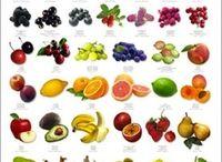 Früchte, Obst und Nüsse