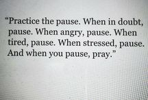 Pause            -            Moments of Well-being / We may not have a lot of time but there is always time to pause.