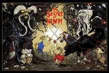 Secret of NIMH by Mark Lone / Odd City commissioned the artist Mark Lone to produce a licensed limited edition screen print for Don Bluth's animated fantasy adventure classic, Secret of NIMH.