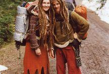 Hippies→