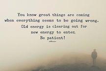 Let go of negative