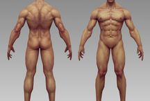 NSFW - Human Body/Anatomy / For now, place any NSFW art here while we investigate nudity rules. Stuff like naked bodies.