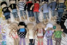 Dolls, Puppets, Toys / by Cindy Carlson