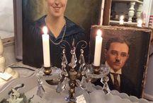 Alter französischer Kerzenleuchter
