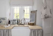 Laundry room inspiration / by Chartreuse & co