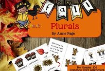 Grammar Activities / Ideas and products for speech and language therapy with grammar goals.
