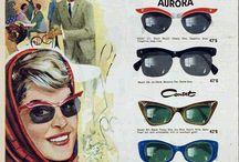 Old sunglasses ads