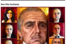 Malované masky na tvář