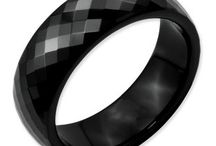Mens Ceramic Rings / Men's Ceramic Rings From Gemologica.com. Let us help you find the perfect black ceramic ring. Ceramic is hypoallergenic, scratch resistant and extremely comfortable to wear. Turn each of life's special moments into break-taking brilliance with mens ceramic rings from Gemologica.