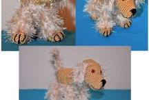 Crochet Pets / English cocker spaniel Albert 10 cm