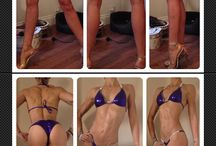 Progress photos / Progress photos leading up to bikini competitions