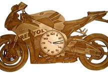 Clocks / Laser cut and engraved clocks and customised designs