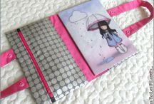 Idées bricolages avec Santoro / Des petites filles super mignonnes... Maintenant aussi en tissus