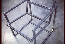 steel frame work/furniture/chairs
