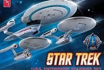 Modelling kits / Star Trek models and other modelling stuff, paints and tools ect.