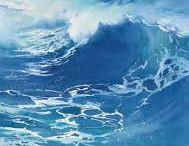 pintura mares
