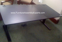 GEEKDESKS Assembly Service - Washington DC Maryland Virginia / We come to you assembly your Geek Desk at your office after delivery. Call 240-705-2263 or go to : www.FurnitureAssemblyExperts.com / by Furniture Assembly Experts LLC - DC MD VA