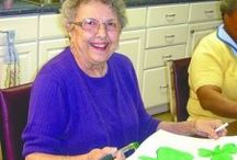 Arts for elderly