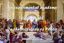 Pictures from videos - EL4DEV - An experimental academy in the footsteps of Plato - Elvere DELSART / How to change the world through a new education based on real-time experience, the instantaneous sharing of knowledge and collective engineering
