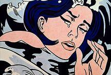 Grandes pintores, dibujantes, escultores e ilustradores. / by Abis Luz