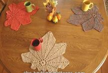 Coasters - Crochetrelated / Crochetwork and patterns I've found online.